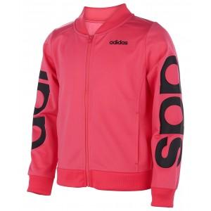 Little Girls Linear Tricot Jacket