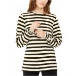 Striped Long-Sleeve Top, Regular & Petite