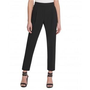 Petite Slim-Straight Pull-On Dress Pants