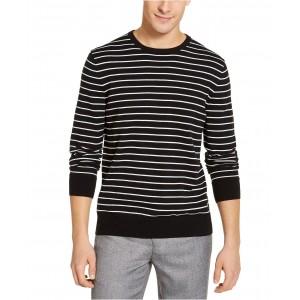 Mens Striped Liquid Sweater