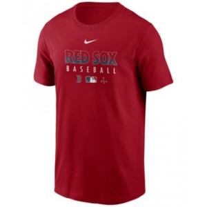 Boston Red Sox Mens Early Work Dri-Fit T-Shirt
