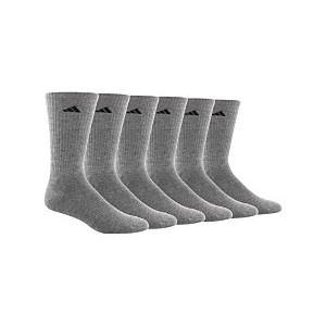 Mens 6 Pack ClimaLite Crew Socks
