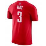 Mens Chris Paul Houston Rockets Name & Number Player T-Shirt
