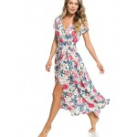 District Nights Ankle Length Dress