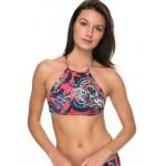 Salty ROXY Crop Bikini Top