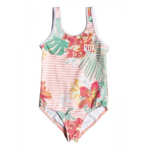 Girl's 2-6 Lush Florals One-Piece Swimsuit