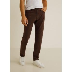 Five pocket cotton trousers