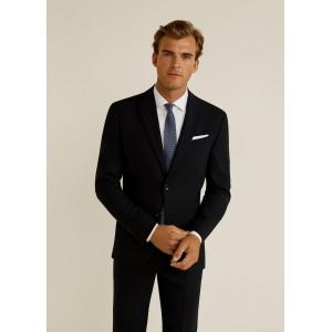 Slim-fit travel suit blazer