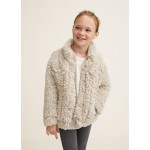Faux shearling pocket jacket