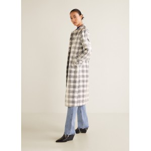 Checkered coated trench