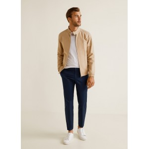 Slim-fit chinos trousers