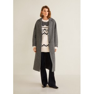 Combined herringbone coat