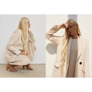 Contrast buttons coat