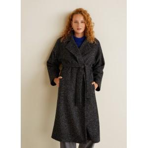 Unstructured belt coat