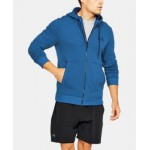 Mens UA Threadborne Fleece Full Zip Hoodie
