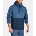 Mens UA Threadborne Fleece ½ Zip Hoodie