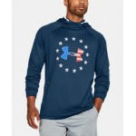 Mens UA Freedom Tech Terry Hoodie