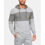 Mens UA Iconic Fleece Collegiate Hoodie