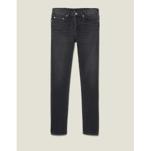 Washed Slim-Fit Stretch Jeans