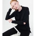 LLD Solid Longline Pullover Sweatshirt