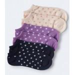 3-Pack Stars Ankle Socks