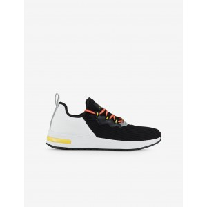 Armani Exchange TWO TONED KNIT SNEAKERS, Sneakers for Men | A|X Online Store