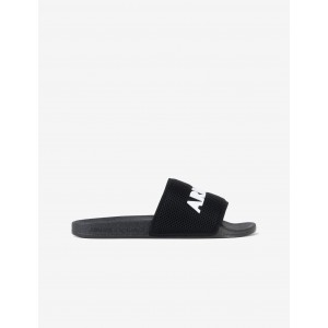 Armani Exchange SLIDES WITH MESH BAND, Flip Flop for Men | A|X Online Store
