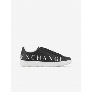 Armani Exchange SNEAKERS WITH LETTERING, Sneakers for Men | A|X Online Store