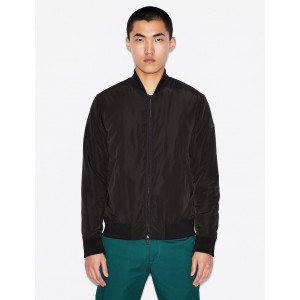 Armani Exchange MINIMAL UTILITY BOMBER, PUFFER JACKET for Men | A|X Online Store
