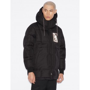 Armani Exchange PUFFER WITH REFLECTIVE LOGO, PUFFER JACKET for Men | A|X Online Store