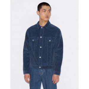 Armani Exchange STRAIGHT FIT CORDUROY JACKET, Denim Jacket for Men | A|X Online Store