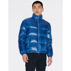 Armani Exchange DUCK DOWN PUFFER JACKET, PUFFER JACKET for Men | A|X Online Store