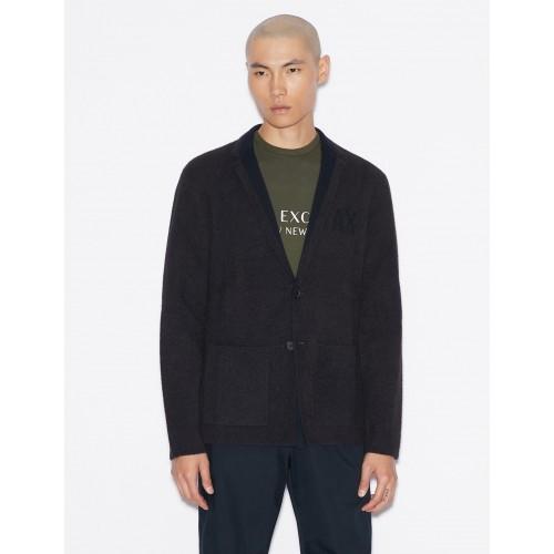 알마니 익스체인지 Armani Exchange KNIT BLAZER, Blazer for Men | A|X Online Store