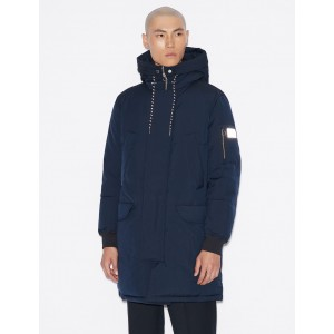 Armani Exchange STRUCTURED PARKA, PUFFER JACKET for Men | A|X Online Store