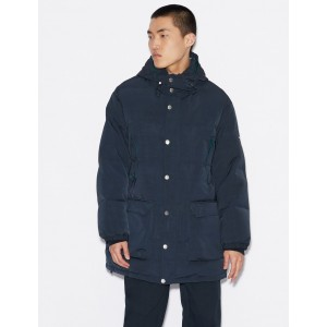 Armani Exchange DUCK DOWN PARKA, PUFFER JACKET for Men | A|X Online Store