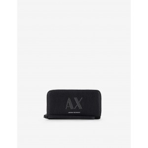 Armani Exchange STUDDED WALLET, Wallet for Women | A|X Online Store