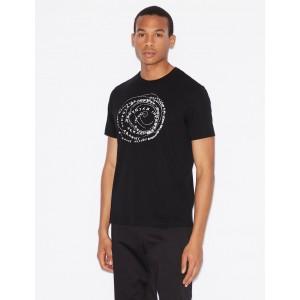Armani Exchange REGULAR FIT PIMA COTTON TEE, Graphic T Shirt for Men | A|X Online Store