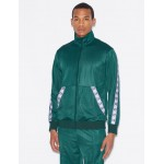 Armani Exchange LOGO TAPE TRACK JACKET, Track Top for Men | A|X Online Store