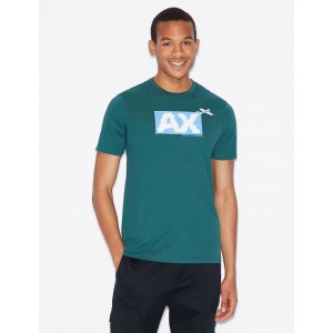Armani Exchange SLIM FIT LOGO GRAPHIC TEE, Graphic T Shirt for Men | A|X Online Store