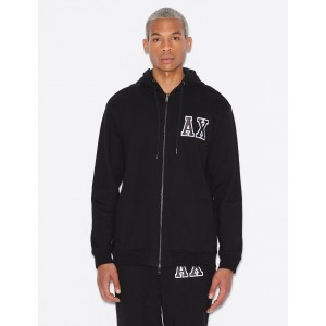 Armani Exchange HOODED SWEATSHIRT WITH LOGO, Hoodie for Men | A|X Online Store
