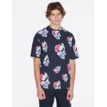 Armani Exchange LOOSE FIT T SHIRT, Graphic T Shirt for Men   A X Online Store
