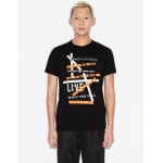 Armani Exchange SLIM FIT TEE, Graphic T Shirt for Men | A|X Online Store