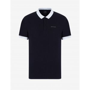 Armani Exchange REGULAR FIT POLO, SHORT SLEEVES POLO for Men | A|X Online Store