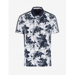 Armani Exchange CAMOUFLAGE POLO, Printed Shirt for Men | A|X Online Store