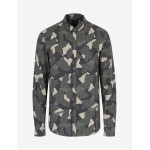 Armani Exchange SLIM FIT PATTERNED SHIRT, Printed Shirt for Men | A|X Online Store