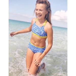 Surf Bikini Top - Oasis Blue Mermaid Toile