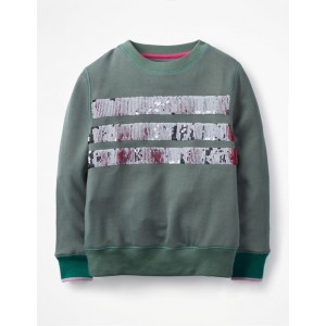 Colour-Change Sweatshirt - Rosemary Green