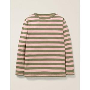 Essential Supersoft T-Shirt - Terrain Green/Suffolk Pink