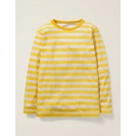 Essential Supersoft T-Shirt - Mustard Yellow/Oatmeal Marl