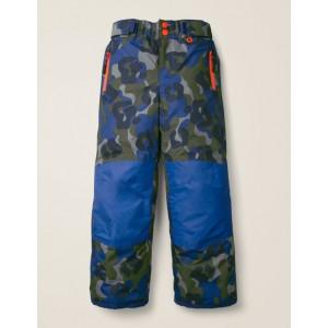 All-Weather Waterproof Pants - Heron Blue/Camouflage